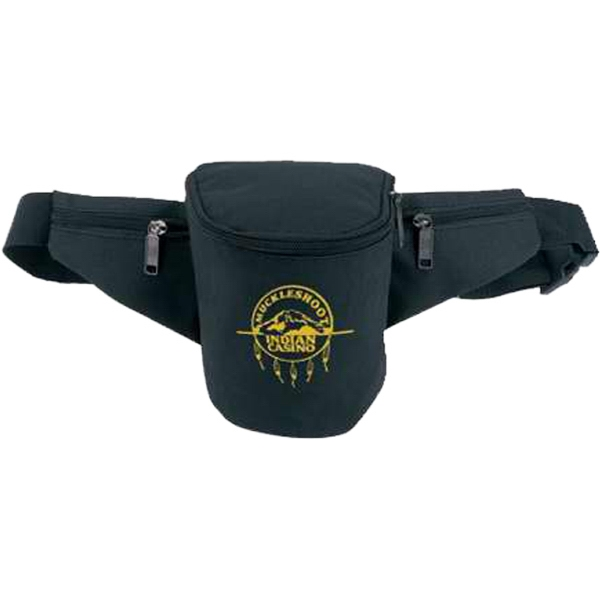 "Casino Fanny Pack With Rear Security Pocket And 50"" Adjustable Waist Strap Photo"