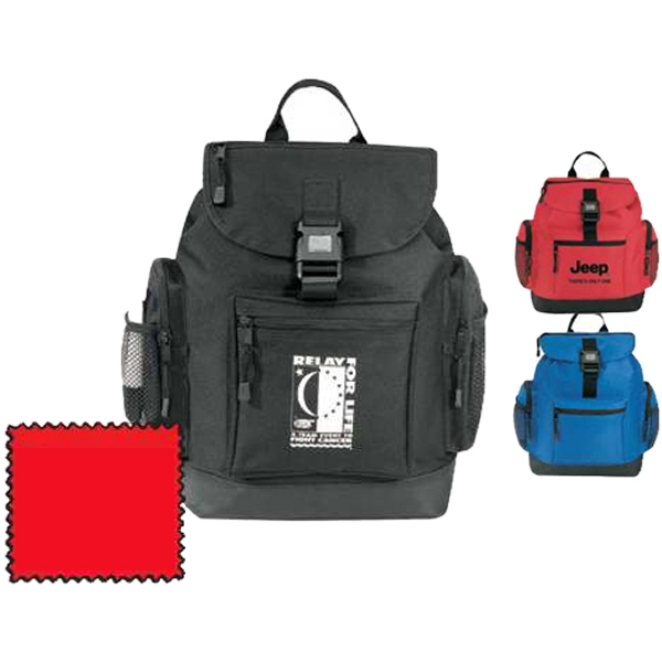 Silkscreen - Large Carry-all Backpack Made Of 600-denier Polyester Photo
