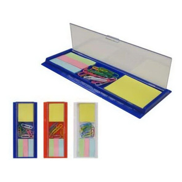 Ruler/Paper Clips/Sticky Note/Tabs Set
