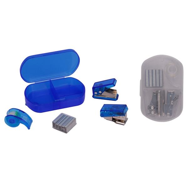 Hole Punch, Stapler & Tape Office Set