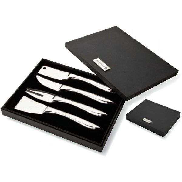 4 Piece Cheese Set Photo