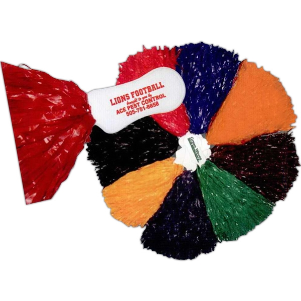 500 Streamer Pom Poms With Contoured Handle Photo