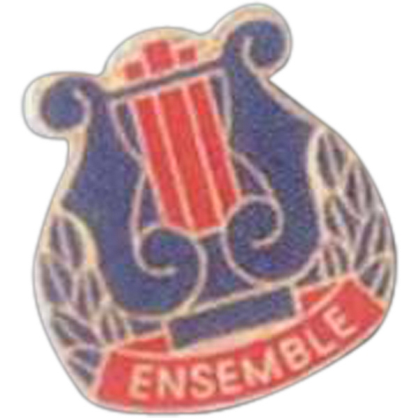 Ensemble - Music Pin With Clutch Back Photo