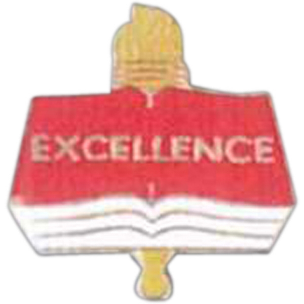Excellence - Scholastic Recognition Pin With Clutch Back Photo