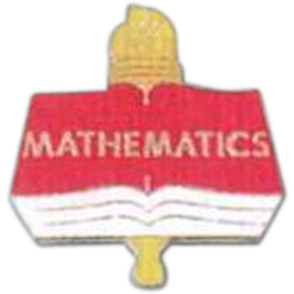 Mathematics - Scholastic Recognition Pin With Clutch Back Photo