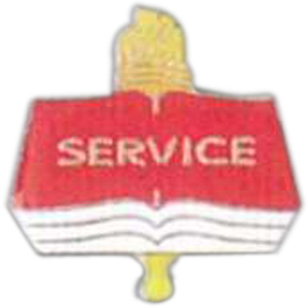 Service - Scholastic Recognition Pin With Clutch Back Photo