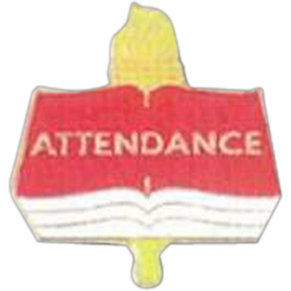 Attendance - Scholastic Recognition Pin With Clutch Back Photo