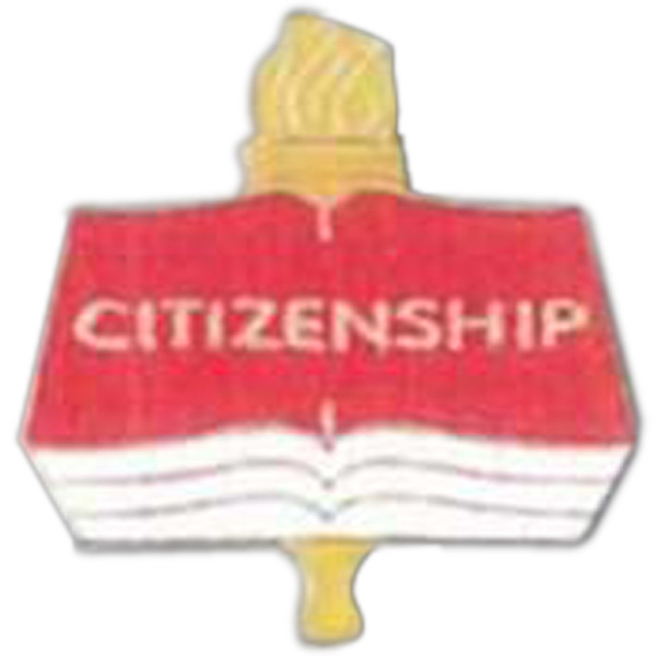 Citizenship - Scholastic Recognition Pin With Clutch Back Photo