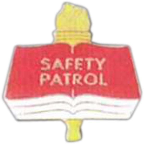 Safety Patrol - Scholastic Recognition Pin With Clutch Back Photo