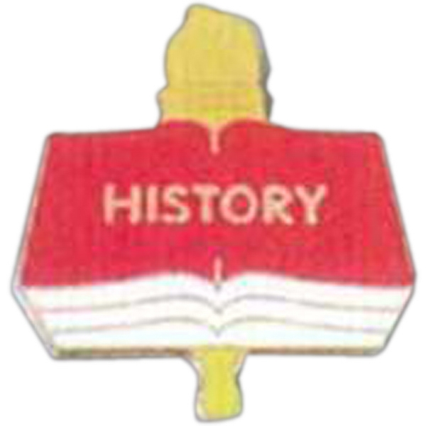 History - Scholastic Recognition Pin With Clutch Back Photo