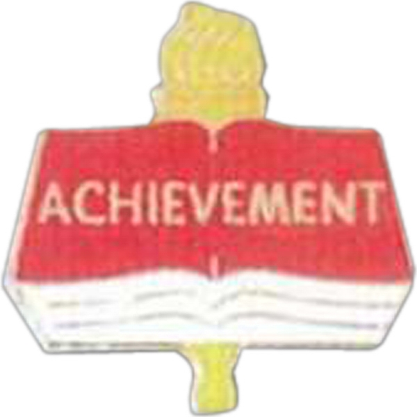 Achievement - Scholastic Recognition Pin With Clutch Back Photo