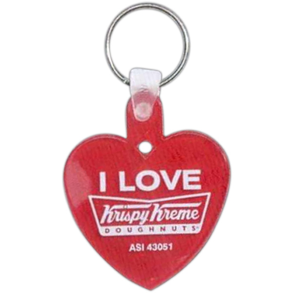 Heart - Soft Squeeze Key Tag Photo