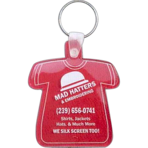 T-shirt - Soft Squeeze Key Tag Photo