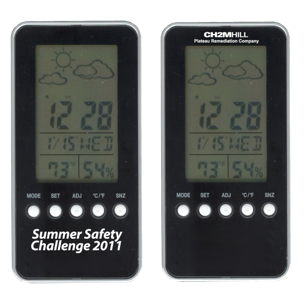 Digital Weather Station With Alarm Clock Photo