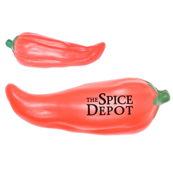 Hot Chili Pepper Shaped Stress Reliever Photo