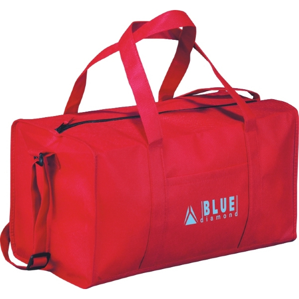 "Popeye (c) - Duffel Bag With Double Reinforced 9 1/2"" Drop Carry Handles Photo"