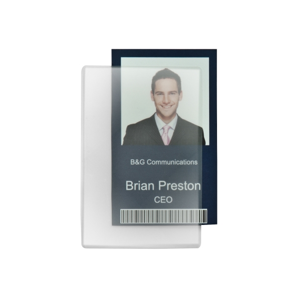 Key Card Laminate Pouch, 5 Mil Thickness. Blank Photo