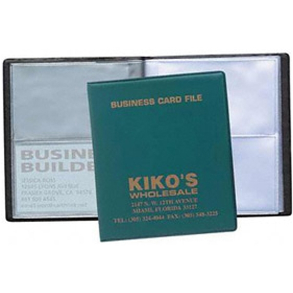4 View Card File