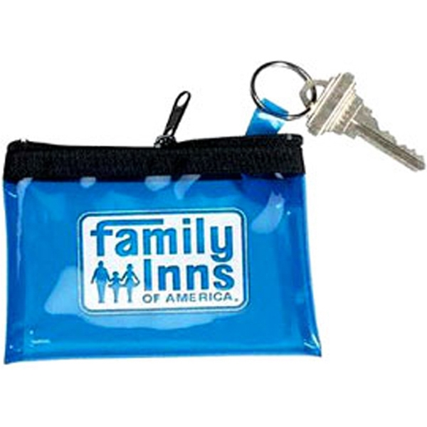 Coin Key Pouch Translucent