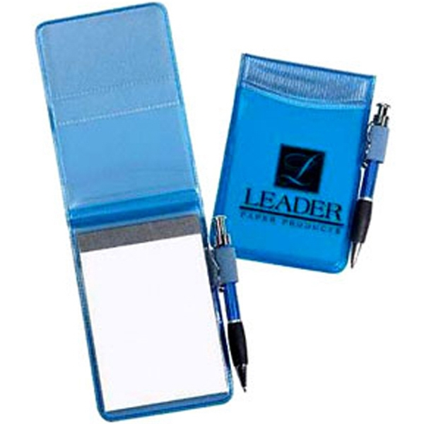 Tiny Tango - Clear Color Vinyl Pocket Size Jotter Pad With Tiny Tango Pen Photo