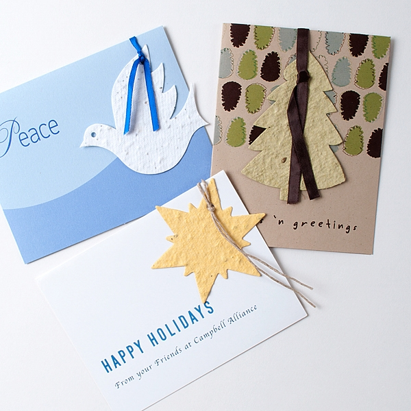 Circle Seed paper cards