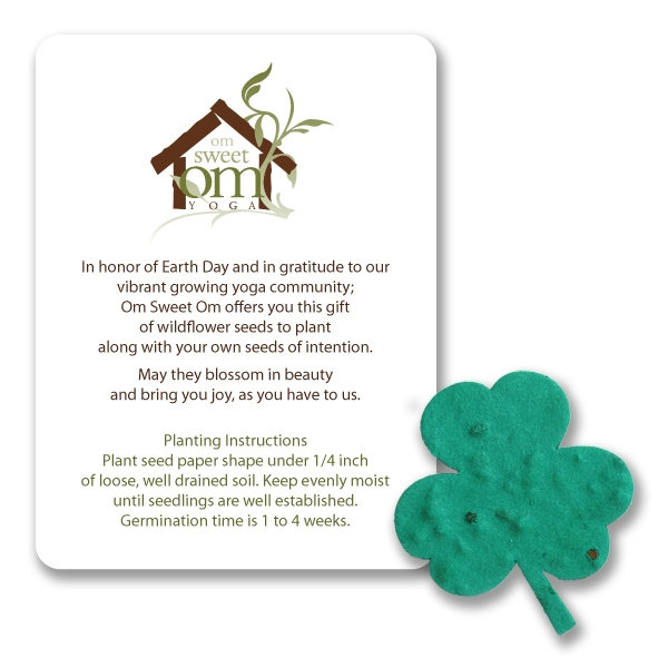 Clover Mini Gift Pack With Seed Paper