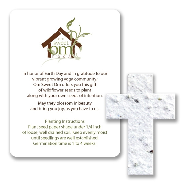 Cross Mini Gift Pack With Seed Paper