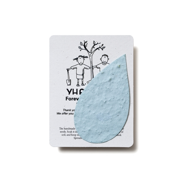 Waterdrop Mini Gift Pack With Seed Paper
