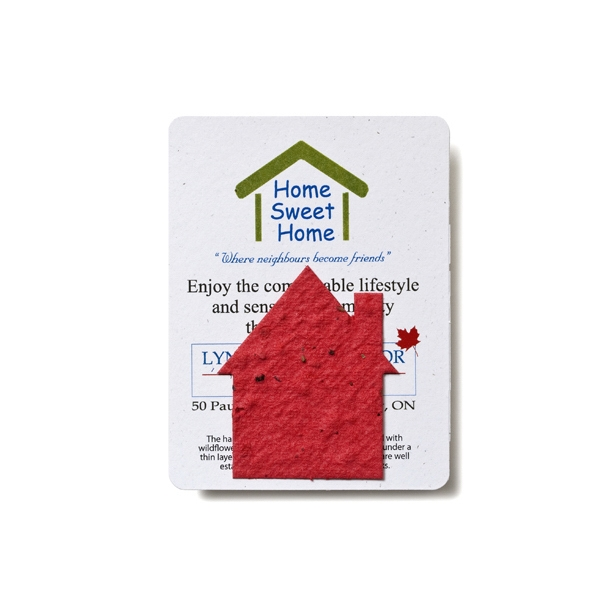 House Mini Gift Pack With Seed Paper