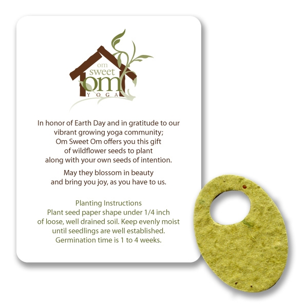 Olive Mini Gift Pack With Seed Paper