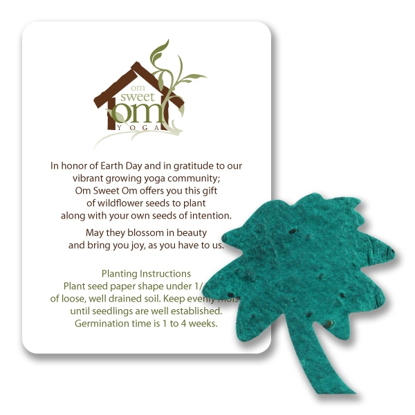 Palm Tree Mini Gift Pack With Seed Paper