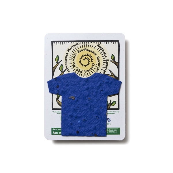 T-shirt Mini Gift Pack With Seed Paper
