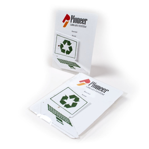Recycle Symbol Mini Gift Pack With Seed Paper