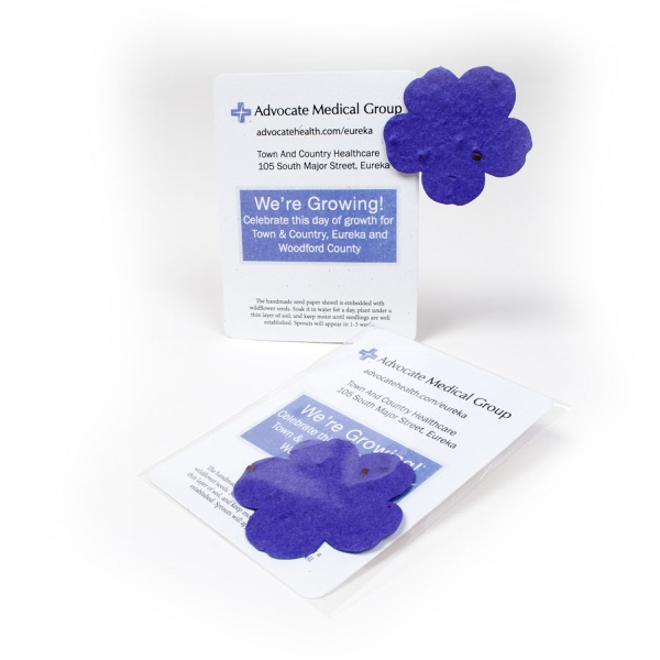 Flower11 Mini Gift Pack With Seed Paper