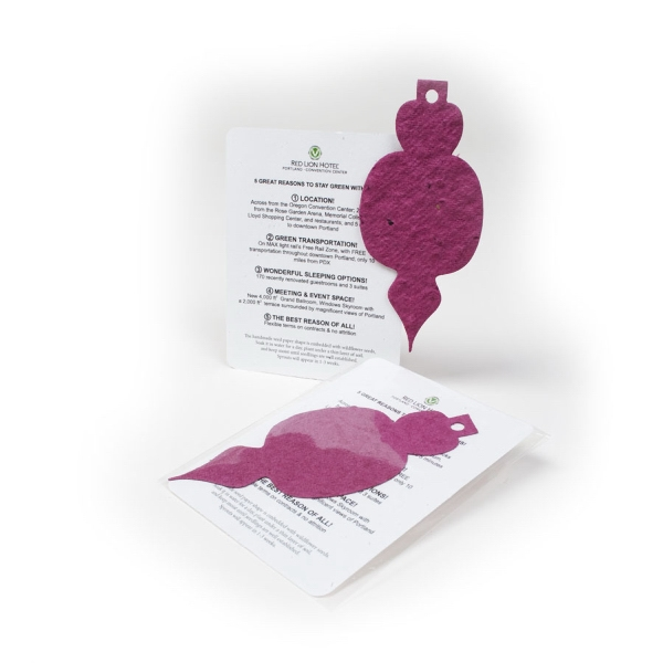 Ornament Mini Gift Pack With Seed Paper