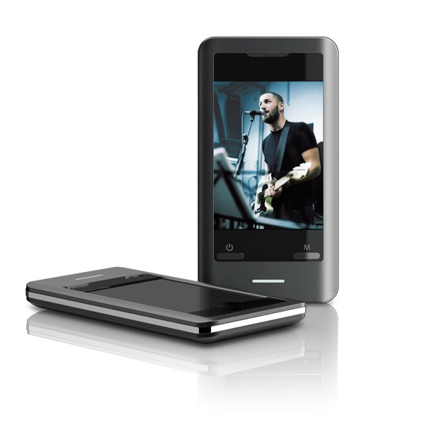 "Mp3 Video Player With 2.8"" Display, 4 Gb Flash Memory, Fm &touch Screen Control Photo"