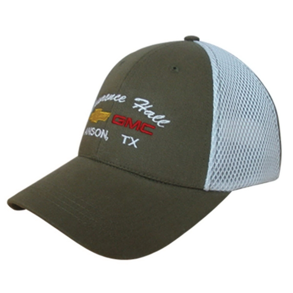 Sport Mesh Cap with 14K Free Embroidery Stitches