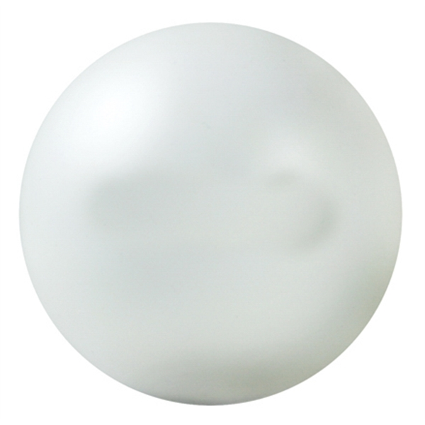Squeezies (r) - White - Stock Color Stress Ball Photo