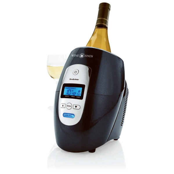 Brookstone (r) - Abs Plastic With Aluminum Sleeve Iceless Wine Chiller Photo