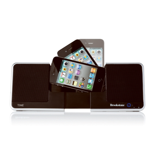Brookstone (r) Idesign (r) - Abs Plastic Flip Speaker Dock Photo