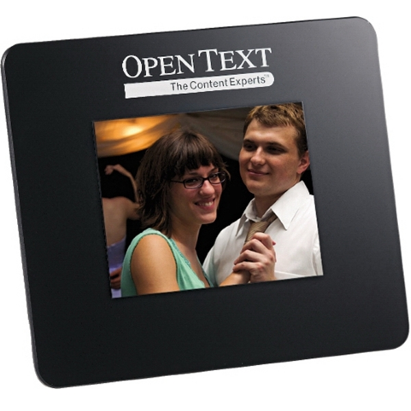 "Black Digital Photo Frame. 3.5"" Photo"