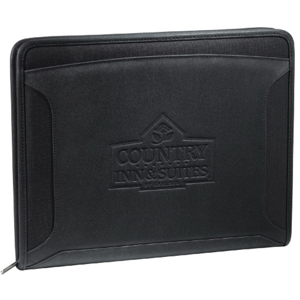 Case Logic (r) - Zippered Closure Tech Padfolio Made Of Textured Ultra Hyde. Exclusive Design Photo