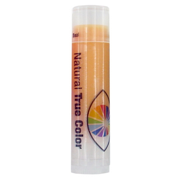 Z Collection (r) - Spf 15 Orange Lip Balm In Clear Tube With Orange Tint Photo