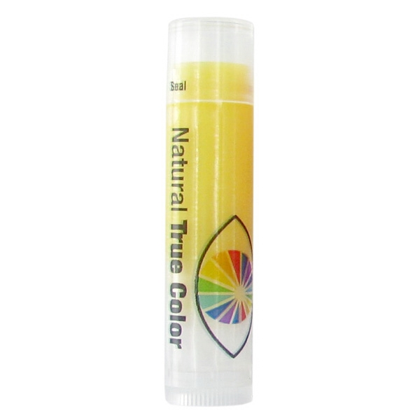 Z Collection (r) - Spf 15 Meyer Lemon Lip Balm In Clear Tube With Yellow Tint Photo