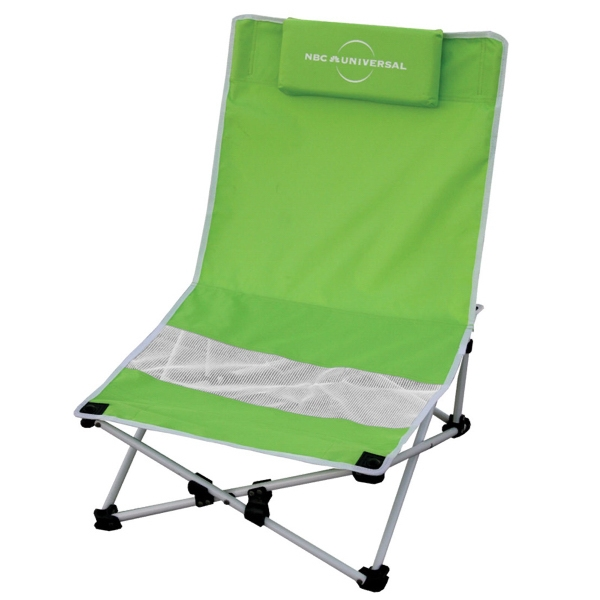 Beach Chair With Padded Pillow And Carry Bag Photo