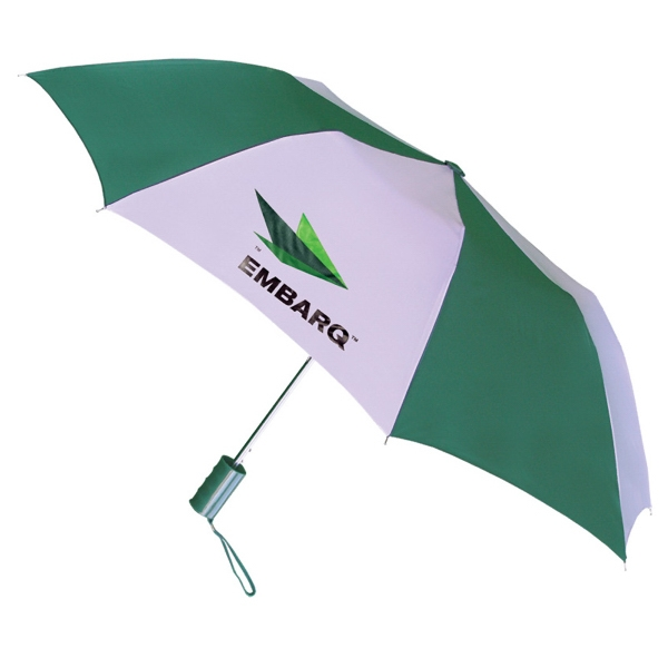 "Pop Up - Automatic Open Umbrella With 43"" Arc, With Plastic Grip Handle And Wrist Cord Photo"