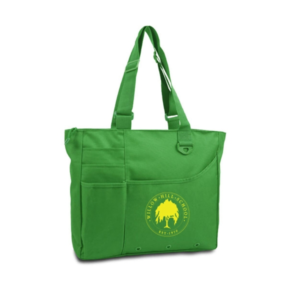 The Organizer Tote, 600 Denier Polyester, Made With 50% Recycled Material Photo