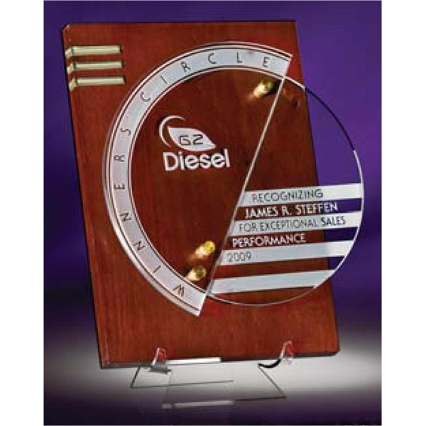 Circlescape - Award Plaque Represents High-style Design For Forward Thinking Organizations Photo