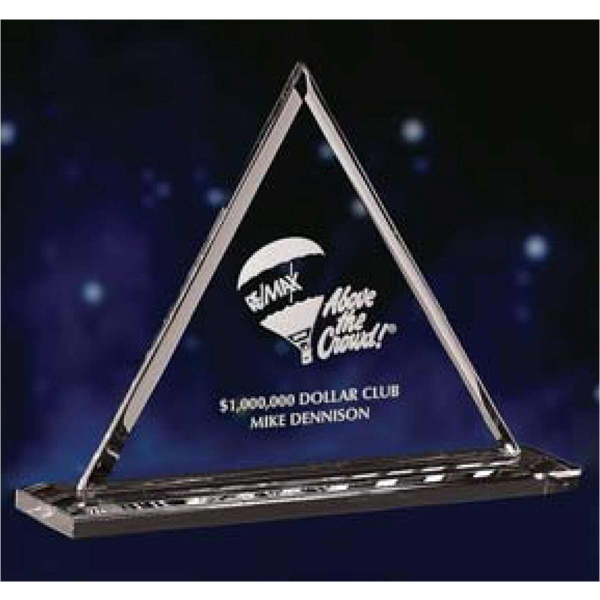 Small - Award Made Of Optic Crystal, An Excellent Choice For Elevating Your Presentation Photo