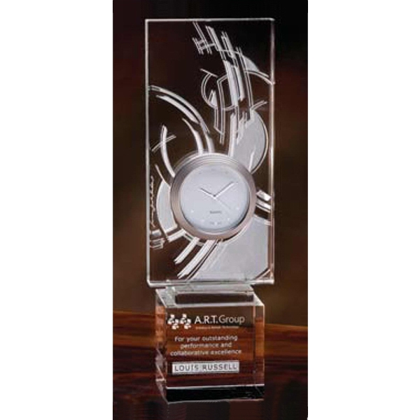 Star Time Frank Lloyd Wright (r) - Crystal Award Our Ancestors Used Star Clocks Photo